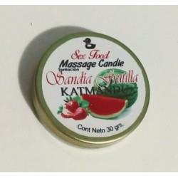 MASSAGE CANDLE FRUTILLA SANDIA